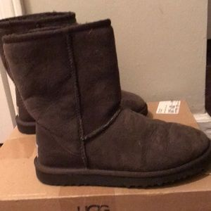 UGG boots in excellent condition - brown